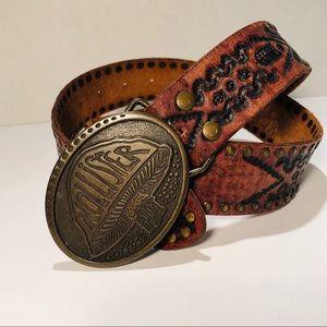 Hollister 100% Leather, Western Style Belt